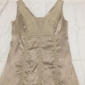 Silky corset type top (not really a corset)